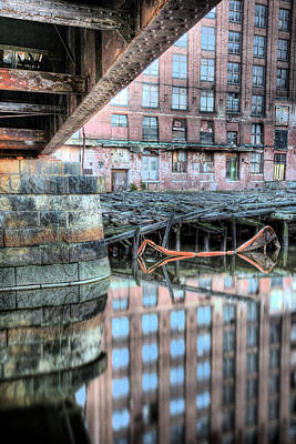 Charles River Photograph - Under The Bridge  by JC Findley
