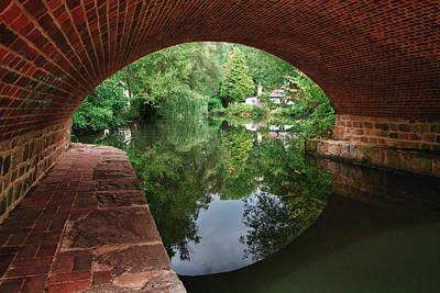 Under The Bridge Art Print by Shirley Mitchell