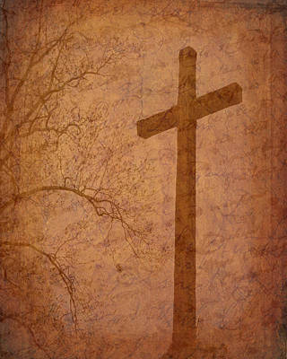 Photograph - Under The Cross by Cindy Wright