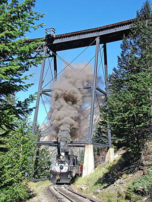 Southern Rocky Mountains Photograph - Under The Devils Gate Bridge by Ken Smith