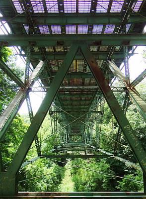 Under The Green Bridge 2 Art Print