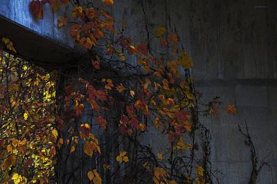 Under The Overpass Art Print by Ron Jones