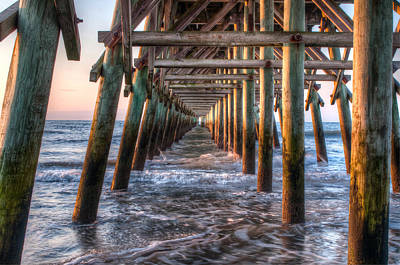 Photograph - Under The Pier by At Lands End Photography