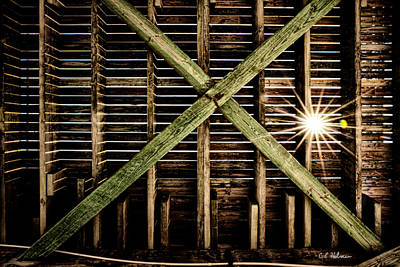 Under The Pier Art Print by Christopher Holmes