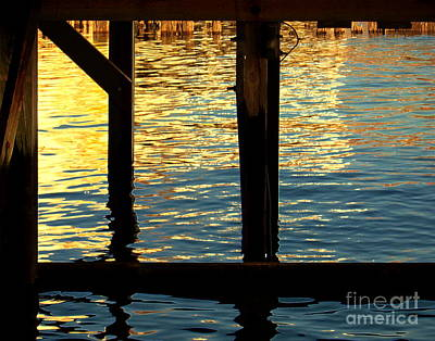 Digital Art - Under The Pier by Dale   Ford