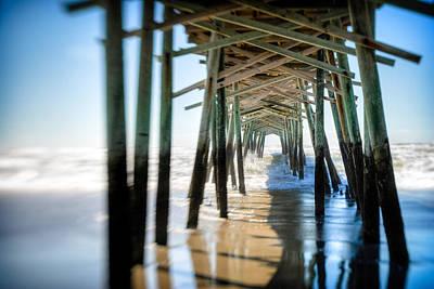 Photograph - Under The Pier  by Joye Ardyn Durham