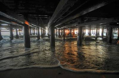 Photograph - Under The Pier by Richard Omura