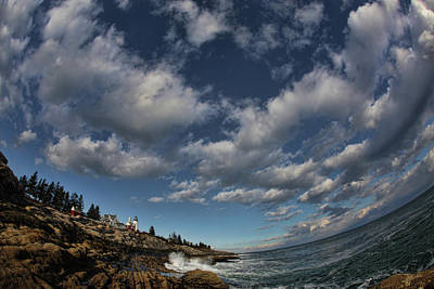 Coastal Maine Photograph - Under The Sky by Rick Berk