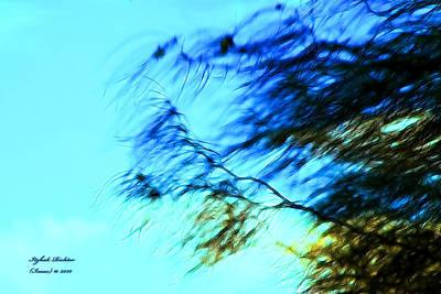Under The Tree Art Print by Itzhak Richter