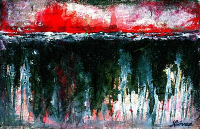 Abstracto Painting - Underground - Art By Laura Gomez by Laura  Gomez