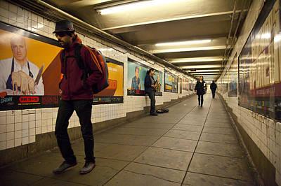 Underground Print by Art Ferrier