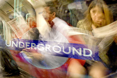 Photograph - Underground by Richard Piper