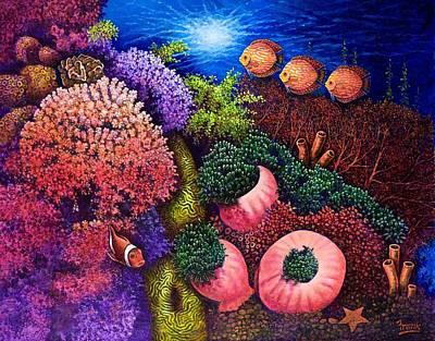 Undersea Creatures IIi Art Print
