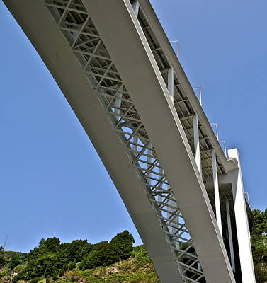 Photograph - Underside Of Beautiful Bridge by Kirsten Giving