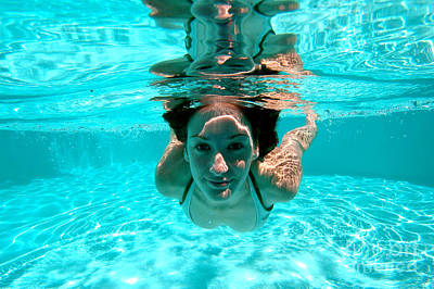 Photograph - Underwater Reflection by JT Lewis