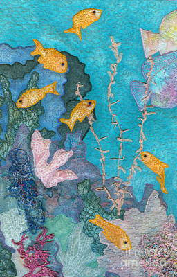 Underwater Splendor II Art Print by Denise Hoag