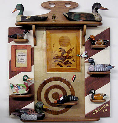 Wood Duck Mixed Media - Undying Love by Czappa