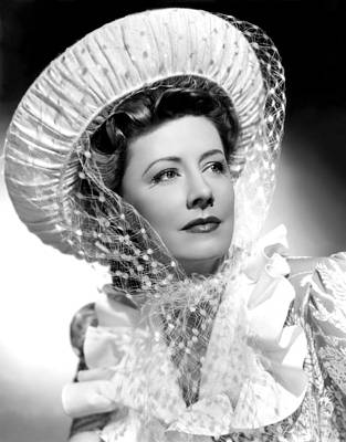 Unfinished Business, Irene Dunne, 1941 Print by Everett
