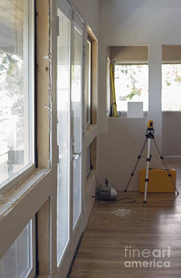 Mess Photograph - Unfinished Room by Andersen Ross