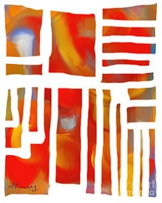 Unglued Art Print
