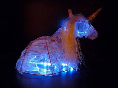 Unicorn Hat Art Print by Rylee Stearnes