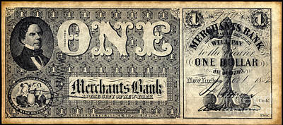 Union Banknote, 1862 Print by Granger