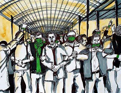 Union Art Print by Nina Mirhabibi
