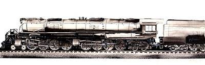 Union Pacific 4-8-8-4 Steam Engine Big Boy 4005 Art Print