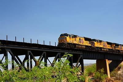 Photograph - Union Pacific 5145 by Joe Kozlowski