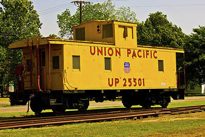 Digital Photograph - Union Pacific by Barry Jones