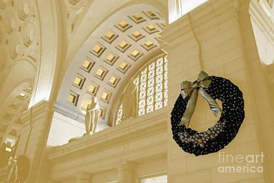 Union Station Holiday Art Print by Jost Houk