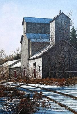 Unionville Railyard Art Print