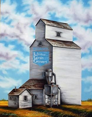 United Grain Growers Art Print