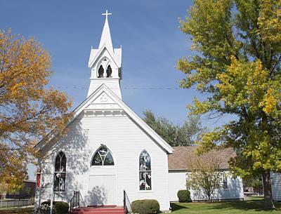 Photograph - United Methodist Church Townsend Mt by Fran Riley