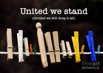Photograph - United We Stand by Nancy Greenland