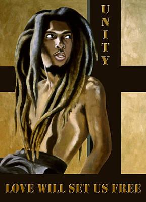 Rasta Painting - Unity by EJ Lefavour