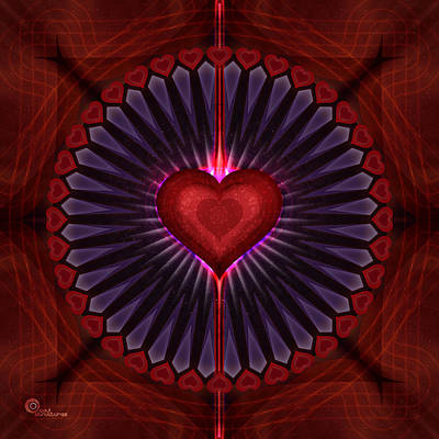 Digital Art - Universal Love by Soul Structures