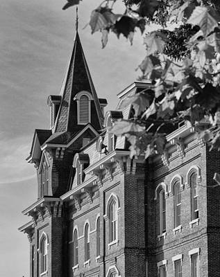 Photograph - University Hall by Coby Cooper
