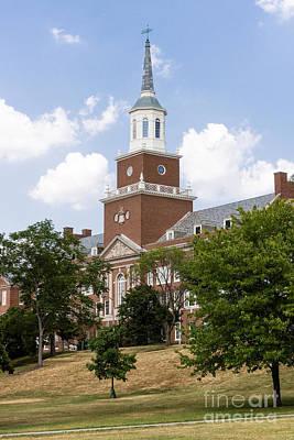 University Of Cincinnati Mcmicken College Art Print by Paul Velgos