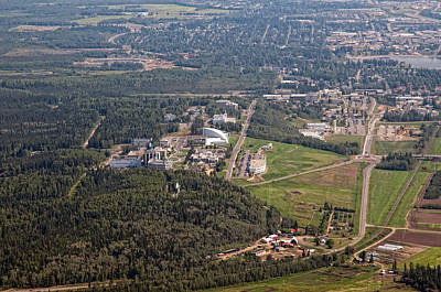 Photograph - University Of Fairbanks by Gary Rose