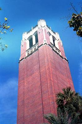 Photograph - University Of Florida Bell Tower by Lynnette Johns