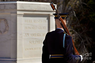 Photograph - Unknown Soldier by Brian Jannsen