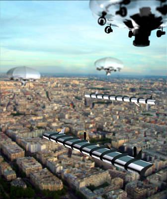 Unmanned Aircraft, Artwork Art Print by Christian Darkin