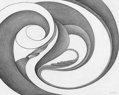 Hypnotic Drawing - Unnamed Sketch 02 by Joanna Pregon