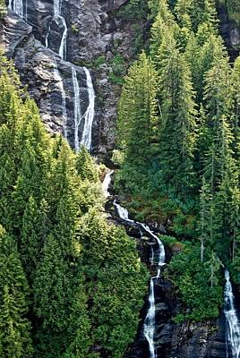 Photograph - Unnamed Waterfall by Eric Tressler