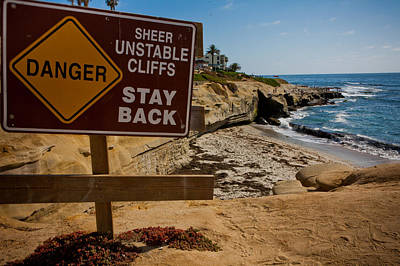 Photograph - Unstable Cliffs by Anthony Doudt