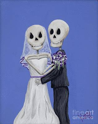Painting - Until Death... by Kerri Ertman