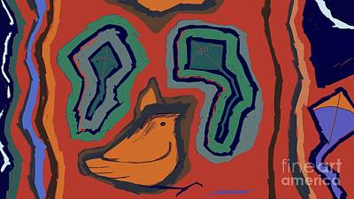 Openness Painting - Untitled 25 by Vilas Malankar