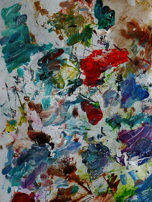 Mixed Media - Untitled 4 by Xueling Zou
