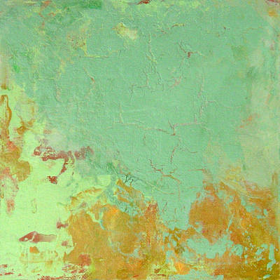 Painting - Untitled Abstract - Celadon by Kathleen Grace